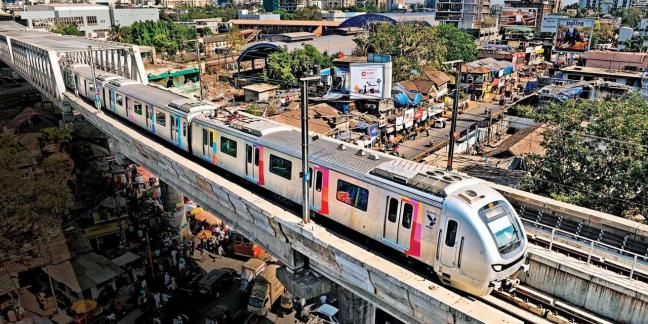 Applying an economic development lens would help in the planning of areas around these upcoming metro lines in Mumbai. Photo by Schedule.wiki